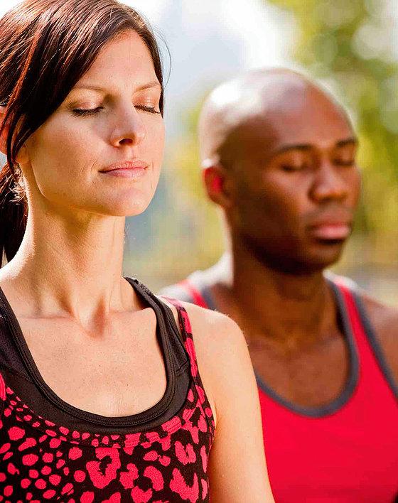 Serene meditators